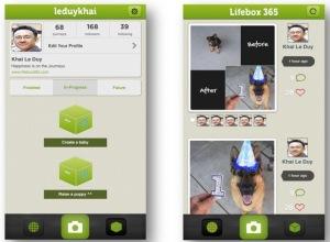 Hình chụp màn hình ứng dụng Lifebox365